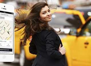 Uber, אפליקציית הנסיעות המובילה בעולם